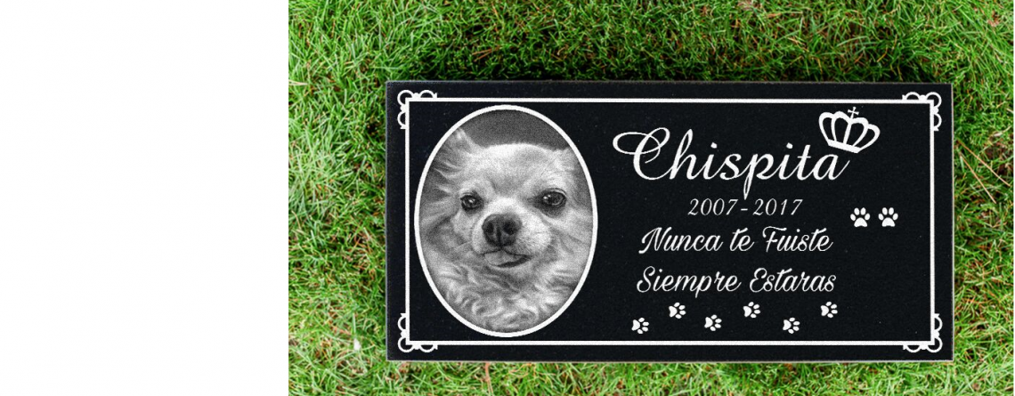 Pet Grave Markers in Fresno